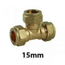 15mm Brass Compression Fittings