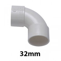 32mm White Solvent Waste Fittings & Pipe
