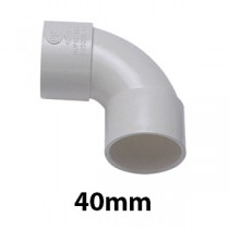 40mm White Solvent Waste Fittings & Pipe