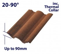 Up to 90mm Profile Tile Recessed Flashings (w/ Thermal Installation Kit)