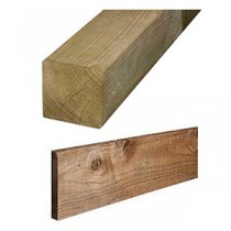 Timber Posts & Gravelboards