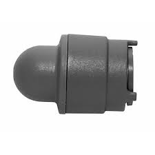 Polyplumb 15mm Demountable Socket Stop End