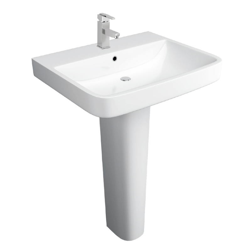 K-Vit Sicily 550mm 1TH Basin & Pedestal