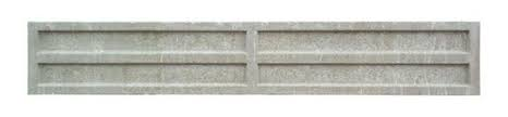 "Recessed Concrete Gravel Board - 12"" (300mm) (6FT)"