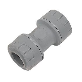 Polyplumb 15mm Straight Coupler