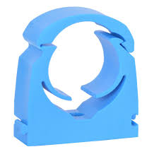 Talon 32mm MDPE Blue Hinged Clip