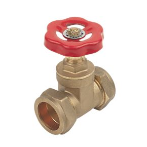 28mm Brass Standard Gate Valve