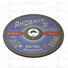 Metal Grinding Hard Disc: 230 x 6.0 x 22.2mm