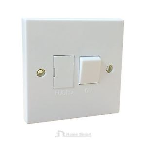 *CLEARANCE* Selectric Square 13A DP Switched Fuse Connection Unit