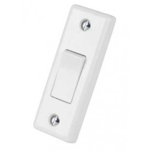 Selectric Smooth 10A Architrave Light Switch [X-Rated, ATSA] -1 Gang, 2 Way