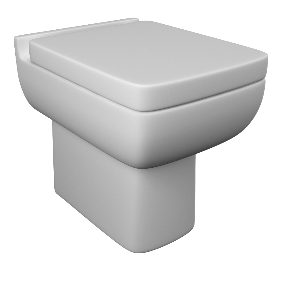 K-Vit Options 600 BTW WC Pan (Seat Not Included)