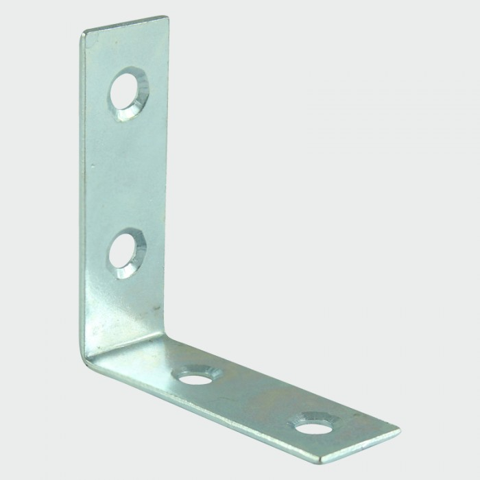 Timco 50x50x16mm Corner Brace (Zinc Plated) - Pack of 4