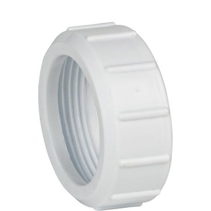 40mm Replacement Trap Nut - White