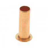 10mm Copper insert with lip for oil line
