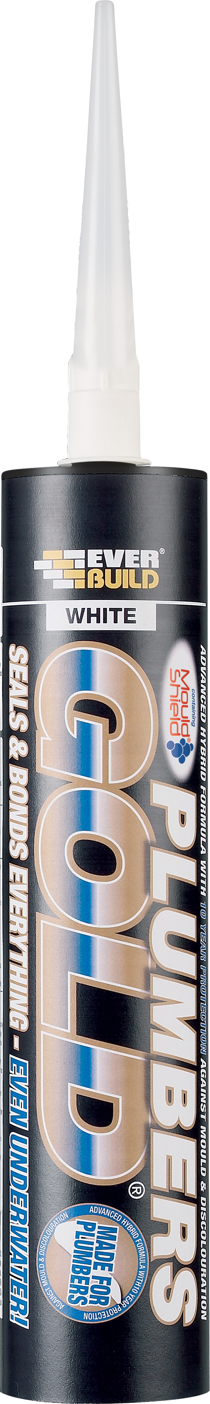 Everbuild Plumbers Gold - White - 290ml