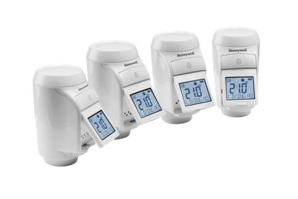 Honeywell Evohome Radiator Multi Zoning Kit (4 HR92 TRV Heads)