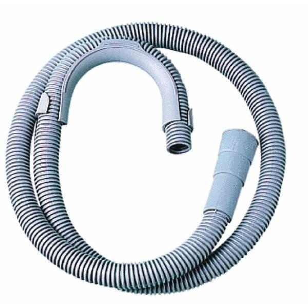 Washing Machine outlet Corrugated Plastic Hose 80cm - 2.5 mtr