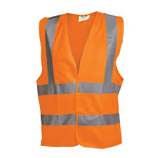 Ox Orange Hi Visibility Vest - XL