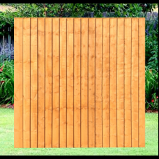 6' x 6' Fully Framed Feather Edge Closeboard Fence Panel