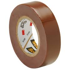 PVC Insulating Tape: Brown