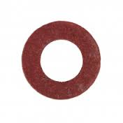 """Red Fibre Ball Valve Seating Washers 1/2"""""""