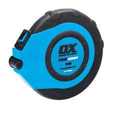 Ox Pro Fibreglass Closed Reel Tape - 30m/100'