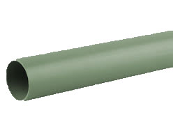40mm Solvent Weld Waste Plain Ended 3m Pipe - Olive Grey