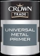 Crown Trade Universal Metal Primer - Grey - 1l