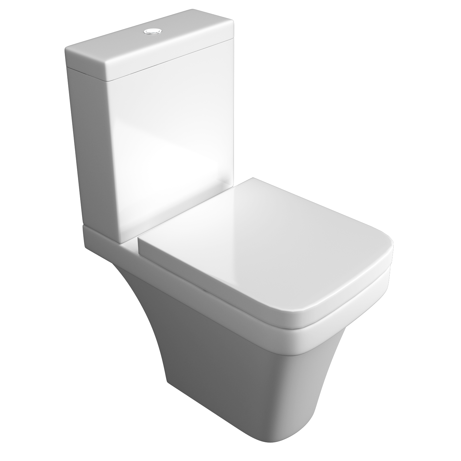 K-Vit Sicily Raised Comfort Height C/C WC Pan & Cistern (Seat Not Included)