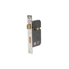 Eclipse 63mm Reversable Bathroom Lock - Nickel Plated