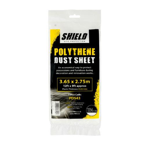 Shield Polythene Dustsheet 50 x 2m