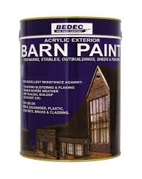 Bedec Barn Paint - 2.5L - Semi Gloss - Black