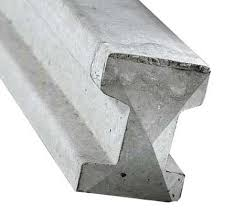 Concrete Intermediate Slotted Fence Post - 10' (3m)