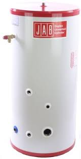 JABDUC Unvented Indirect Stainless Steel Solar-Ready Cylinder - 300 ltr