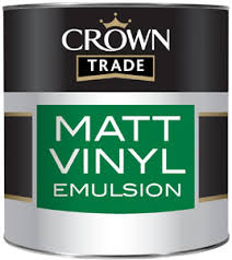 Crown Trade Essentials Matt Emulsion - 2.5l - Fairy Dust