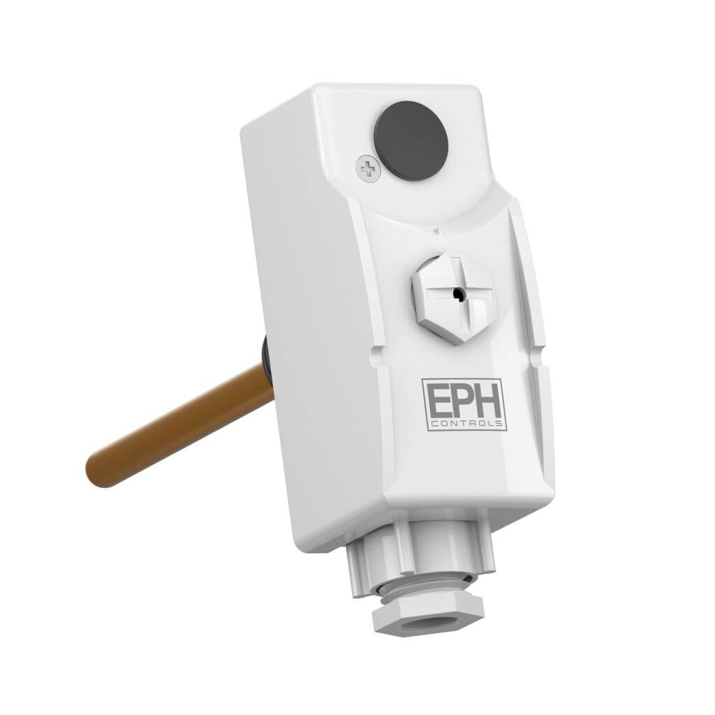 EPH Tamperproof Thermostat c/w Immersion Pocket