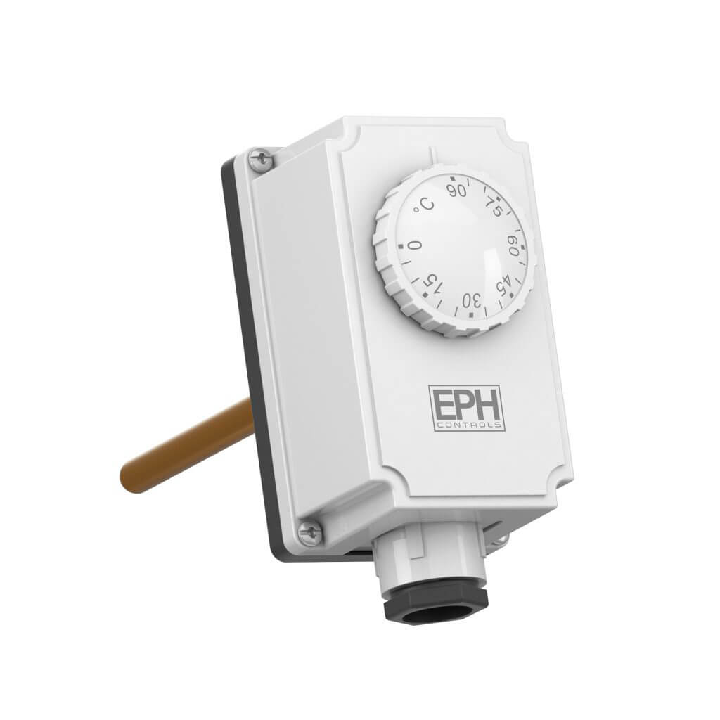 EPH Immersion Thermostat c/w Immersion Pocket