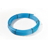 25mm MDPE Pipe Coil 50m - Blue