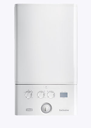Ideal Exclusive 35 Combi Boiler & Clock - 35kW (5 Year Warranty)