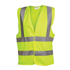Ox Yellow Hi Visibility Vest - Medium