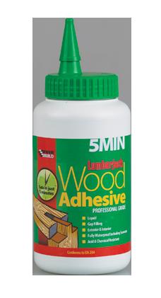 Everbuild Lumberjack 5 min Polyurethane D4 Wood Adhesive - 750G