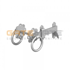 "GateMate 150mm (6"") Ring Gate Latch - BZP"
