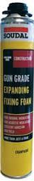 Soudal Trade 750ml Gun Grade B3 Expanding Foam - Champagne