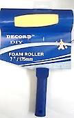 "Decor8 Elite 7"" Foam Roller (Carded)"