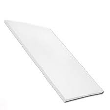 9mm Plain Multipurpose Soffit White 100mm (5m)
