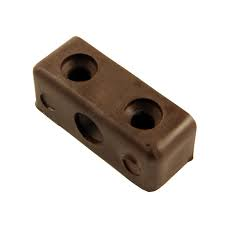 Eclipse Modesty Blocks and Screws - Brown (Pack of 4)