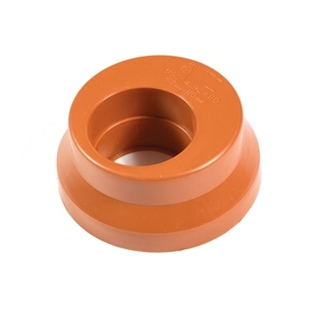 Solid 68mm Plastic Rainwater Adapter