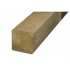 100 x 100 x 2400mm KD Brown Treated Fencing Timber Post