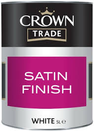 Crown Trade - Satin - White - 2.5L