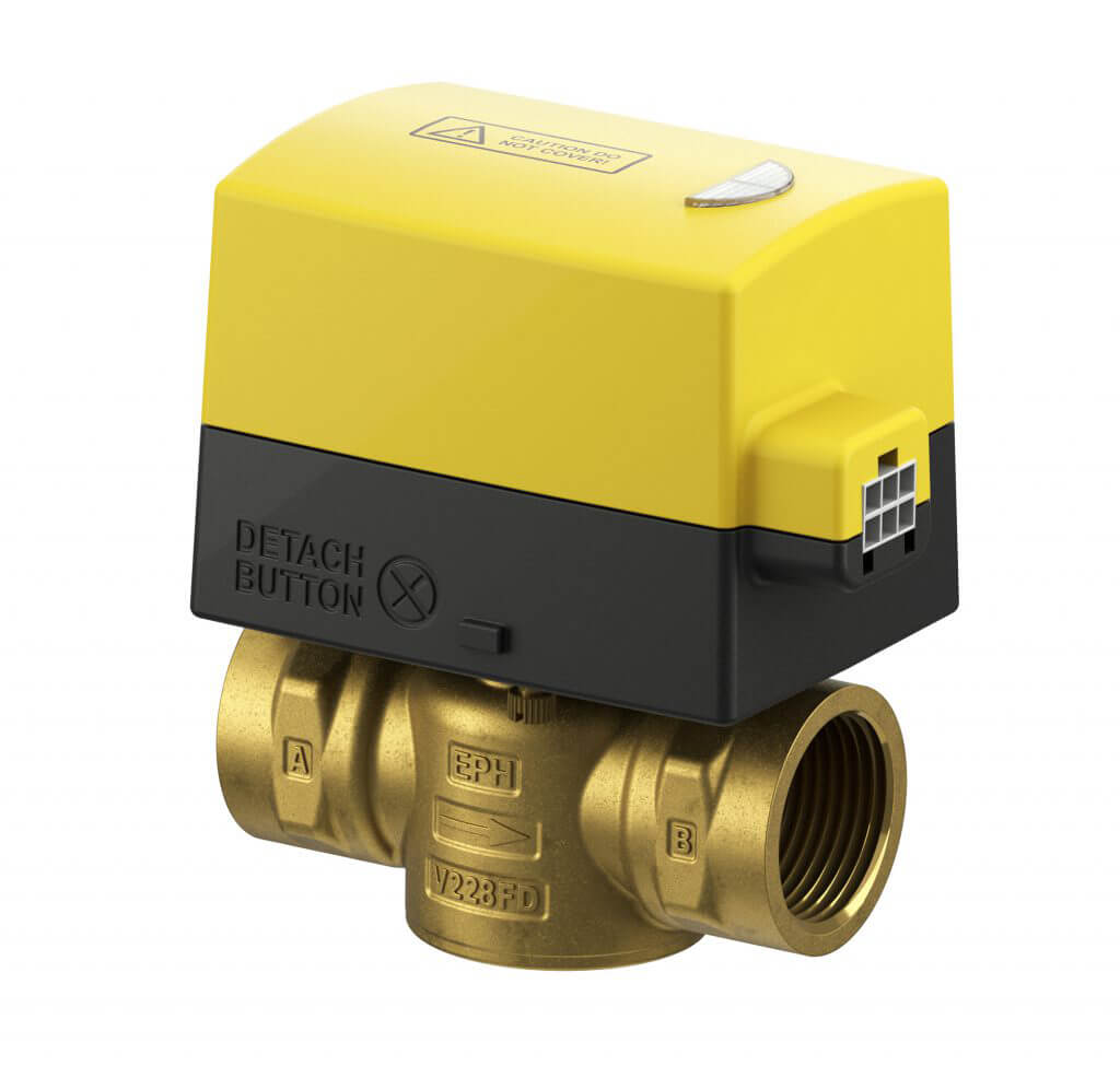 "EPH 2 port 3/4"" Detachable Female Motorised Valve (Normally Closed, 230Vac)"